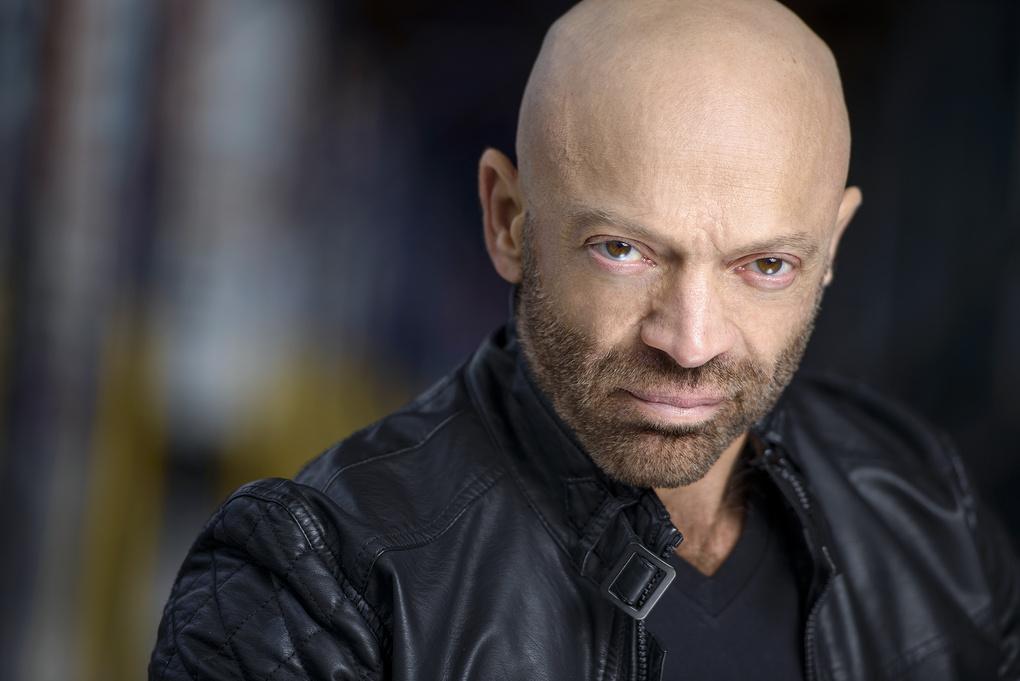 NY actor Bill M.  by Christian Webb