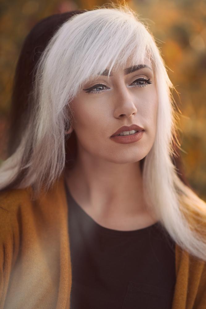Autumn girl by Karl-Filip Karlsson