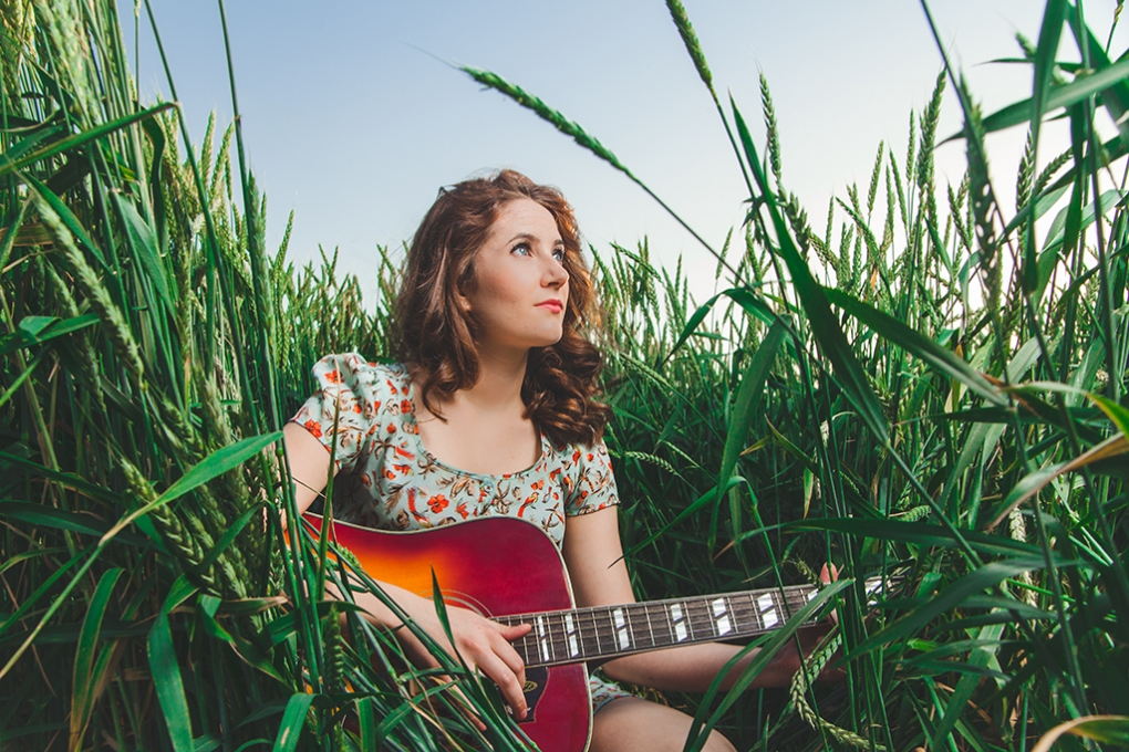 Musician in the Grass by Andrew Austin