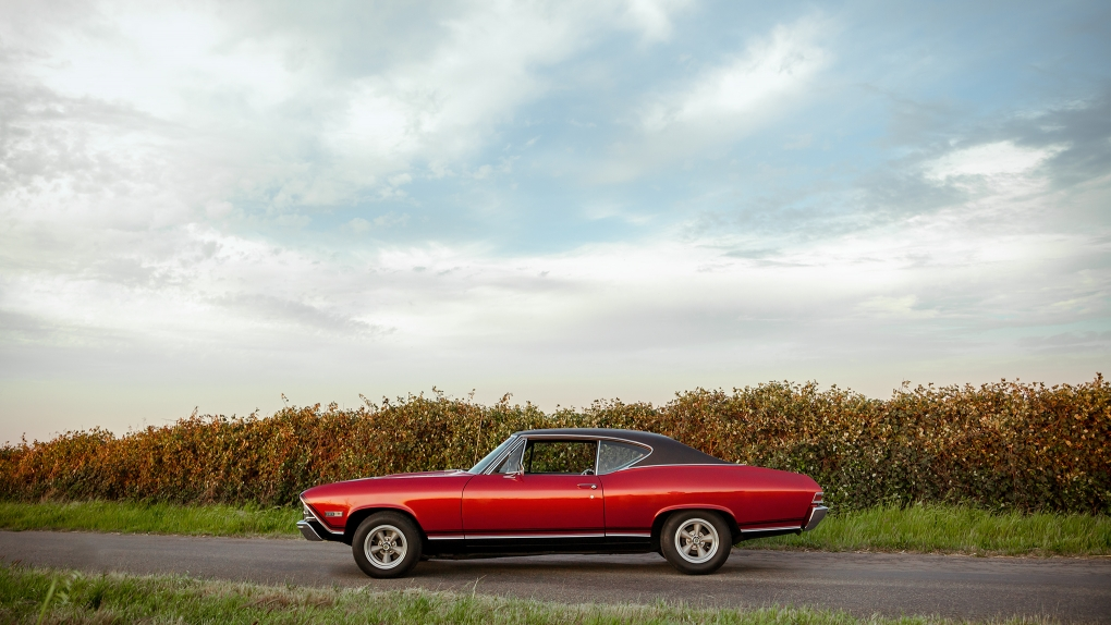 Backroads Chevelle by Andrew Austin