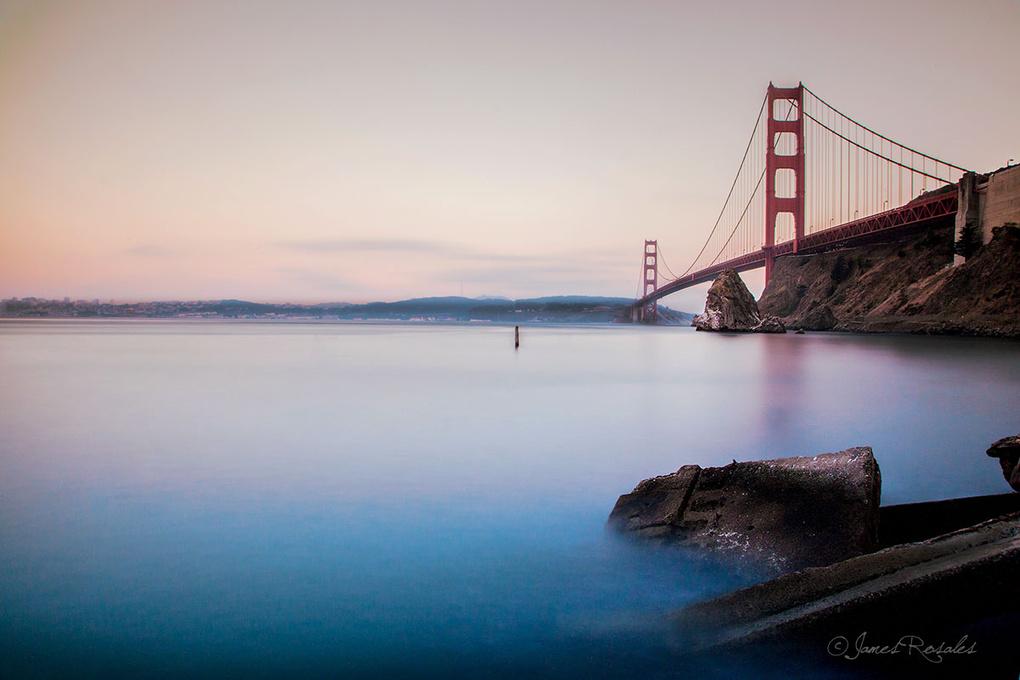 Golden Gate Magic by James Rosales