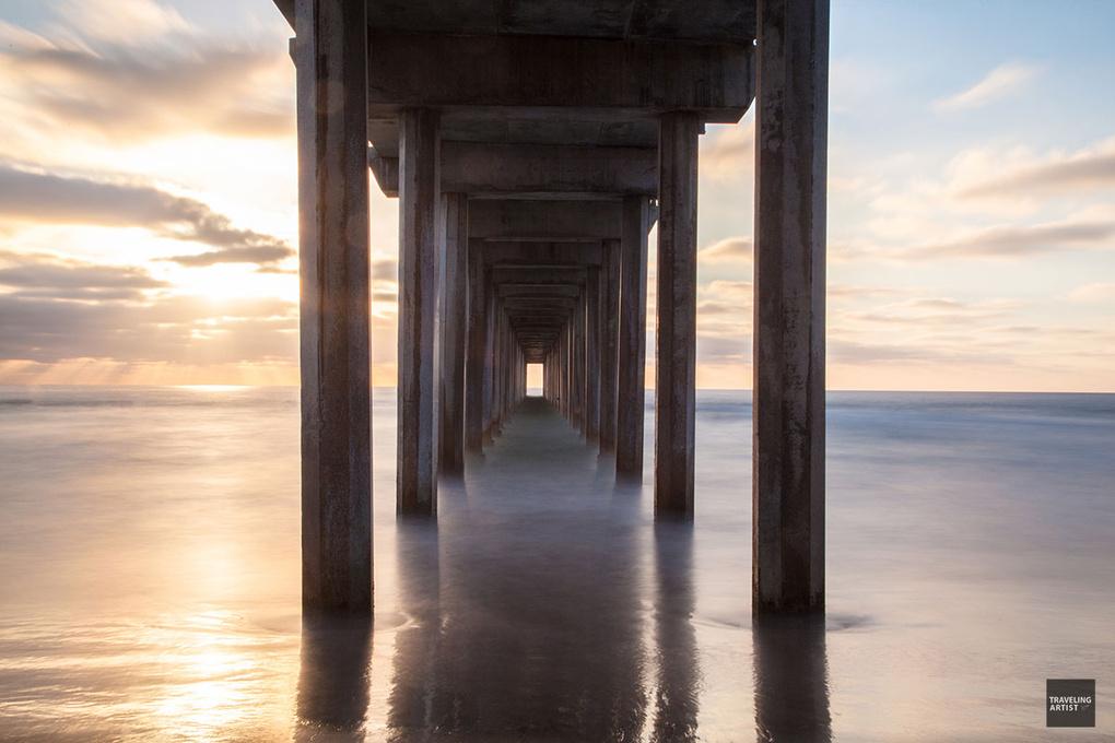 Scripps Pier by James Rosales