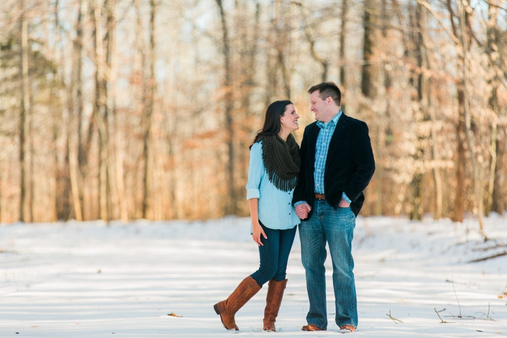 Snowy Engagement by Kristi Woody
