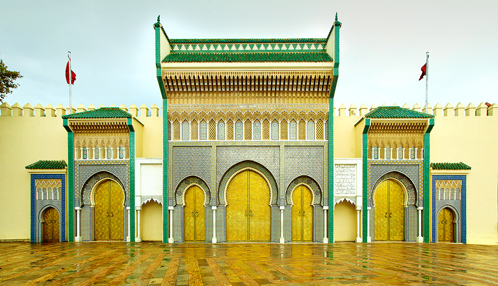 King's Palace, Meknes, Morocco by Slawek Jankowski