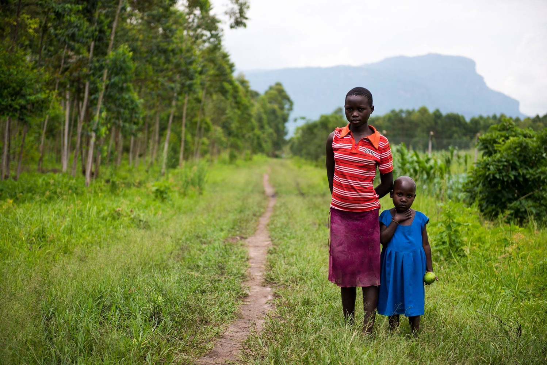 Ugandan Siblings  by Julien Jarry