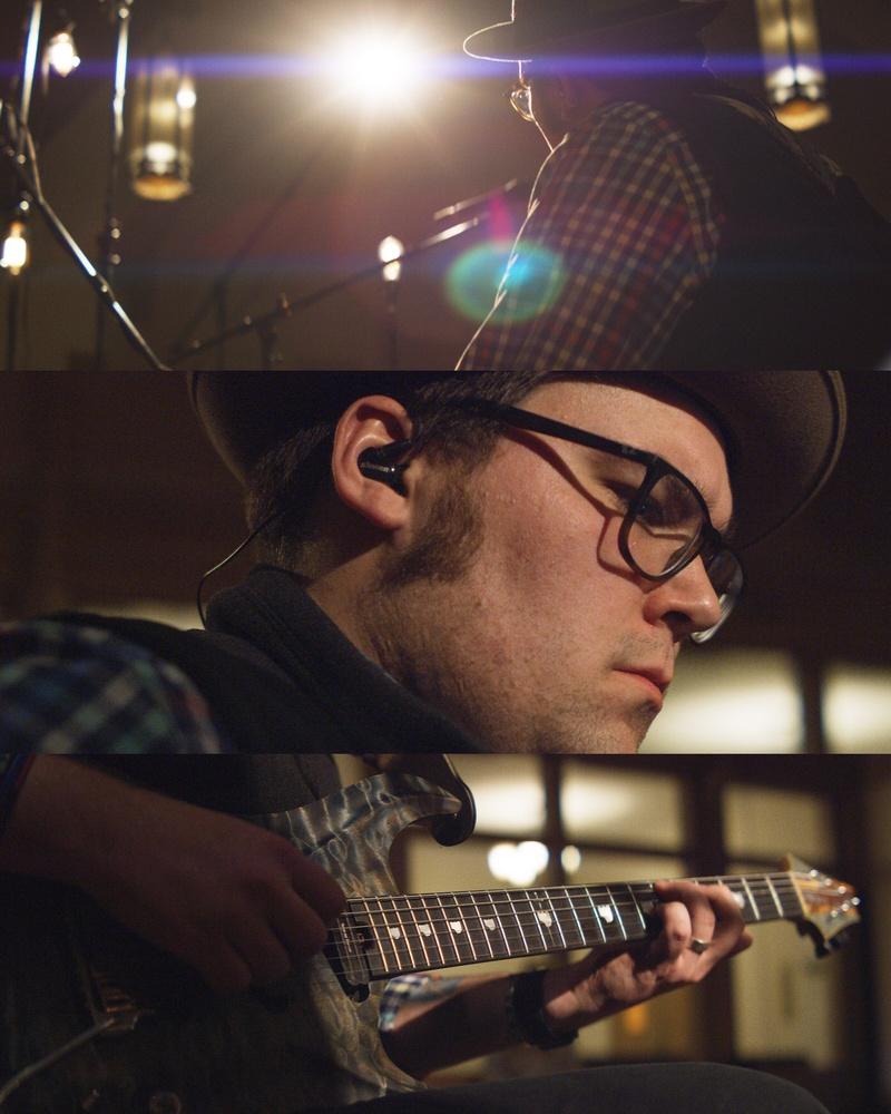 Anamorphic Guitar Frames by Julien Jarry