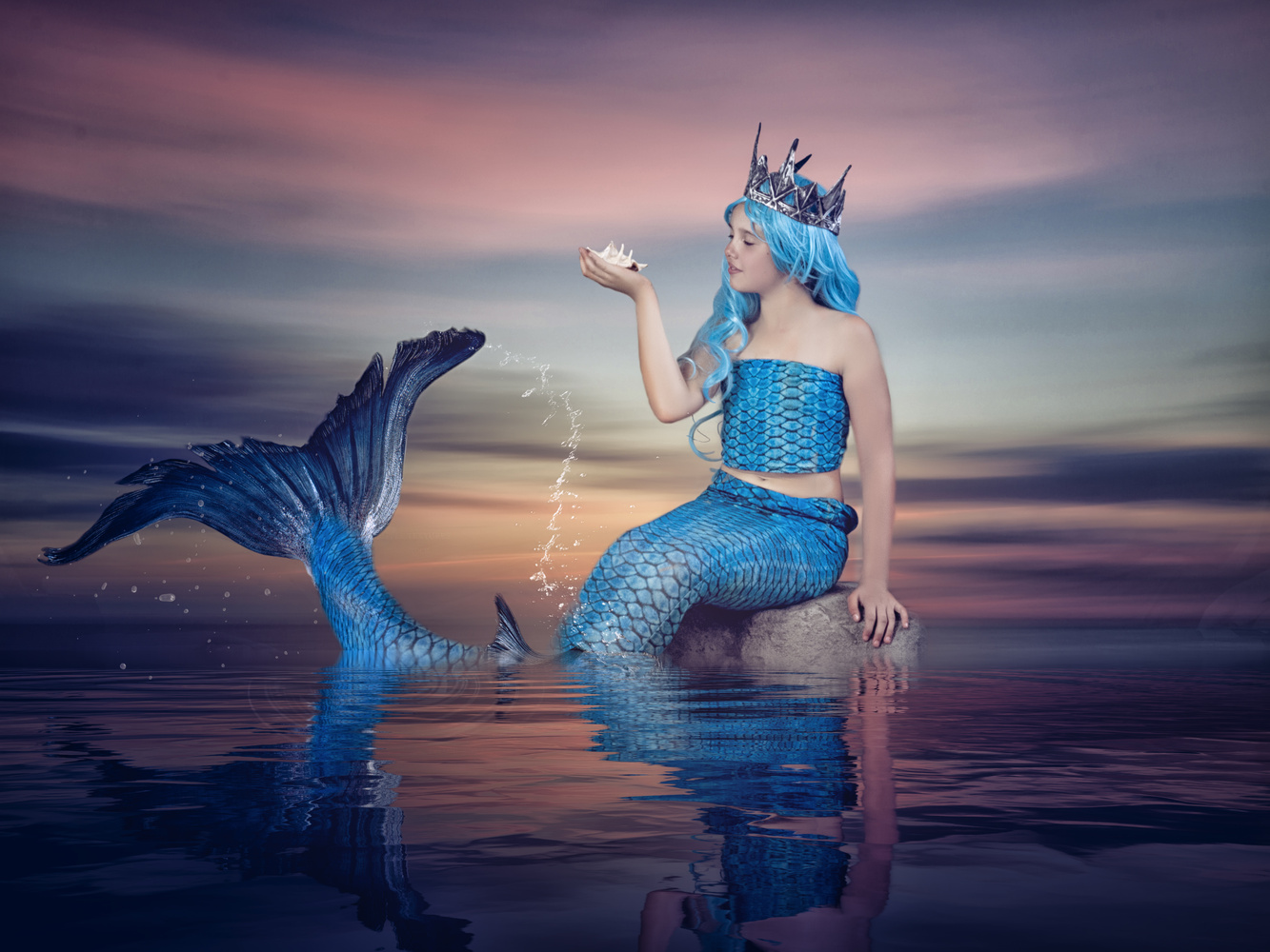 The little mermaid by Michelle Goodall