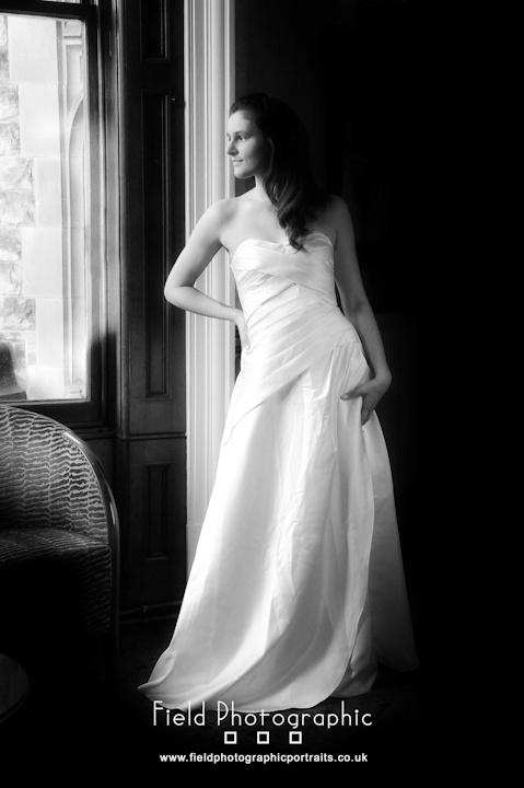 Bride Natural Light by Mervyn Spencer