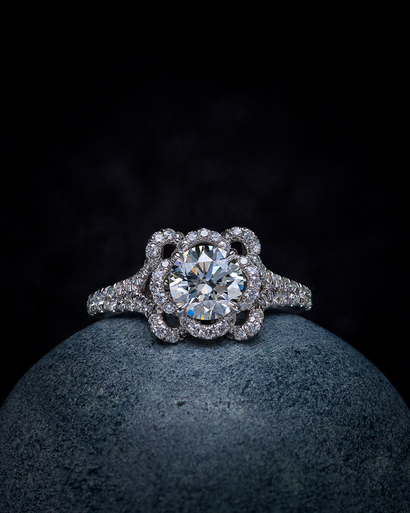 Diamond Engagement Ring by Edgar Maivel