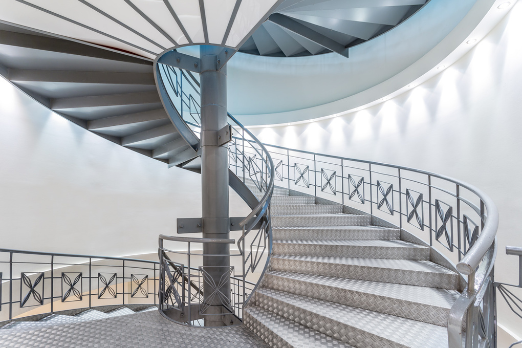 Hotel Staircase by Adrian Greaves