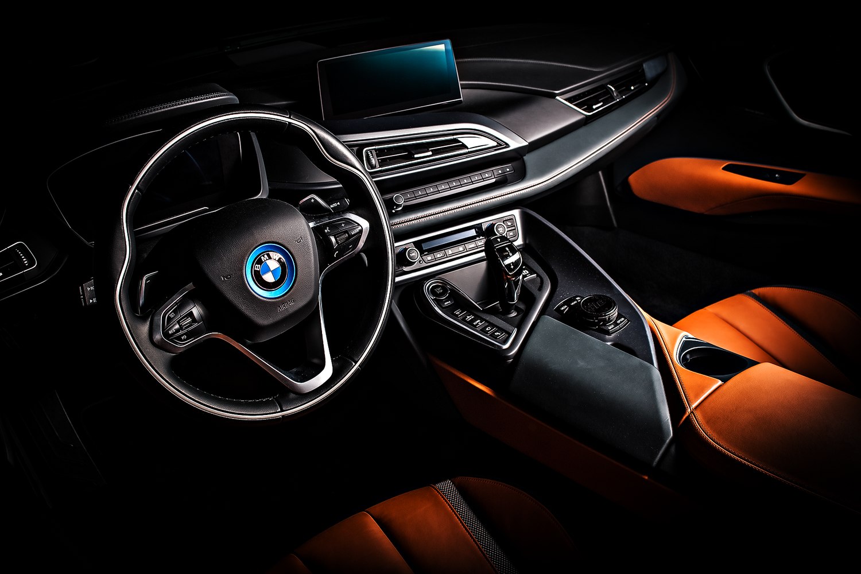 BMW i8 interior by Dragan Medakovic