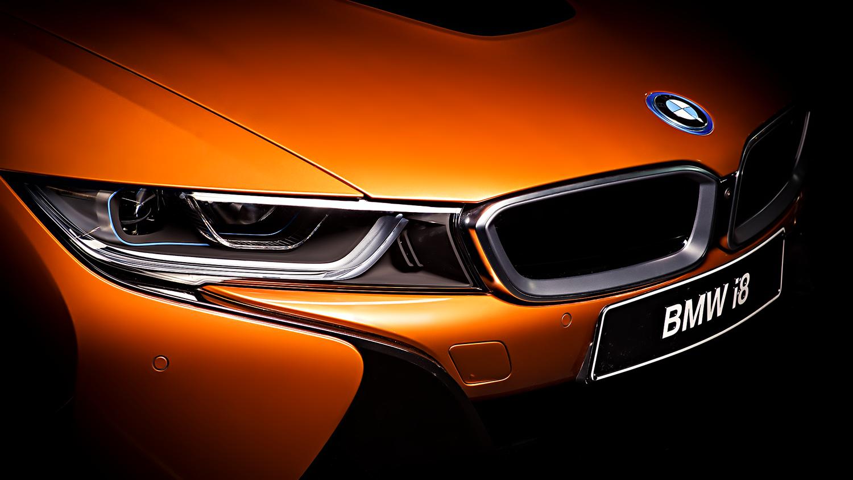 BMW i8 front by Dragan Medakovic