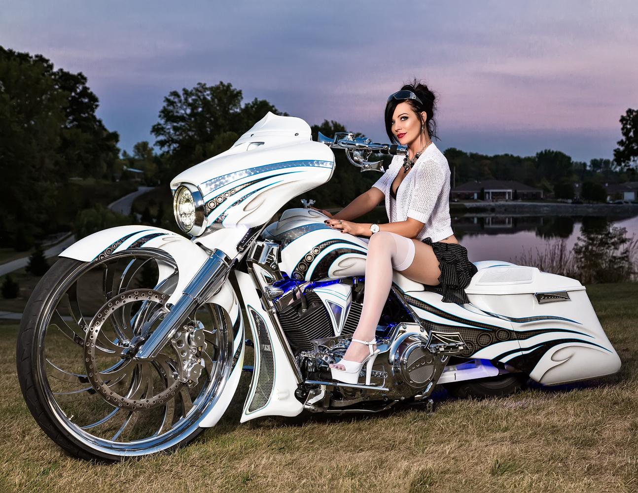 Harley Dream by David Lawrence