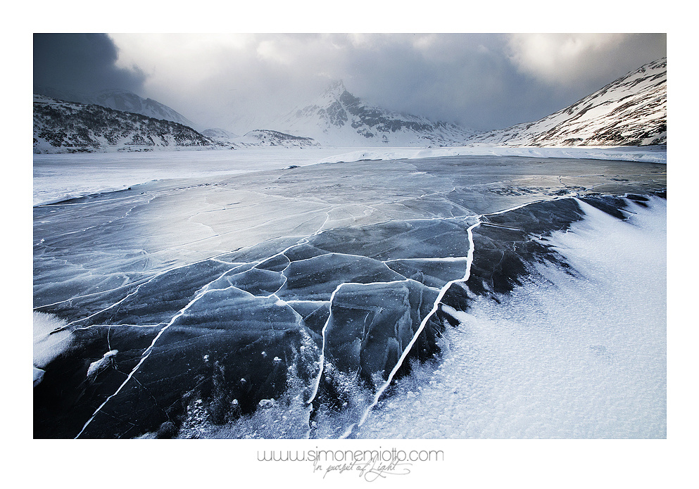 Frozen Land by Simone Miotto