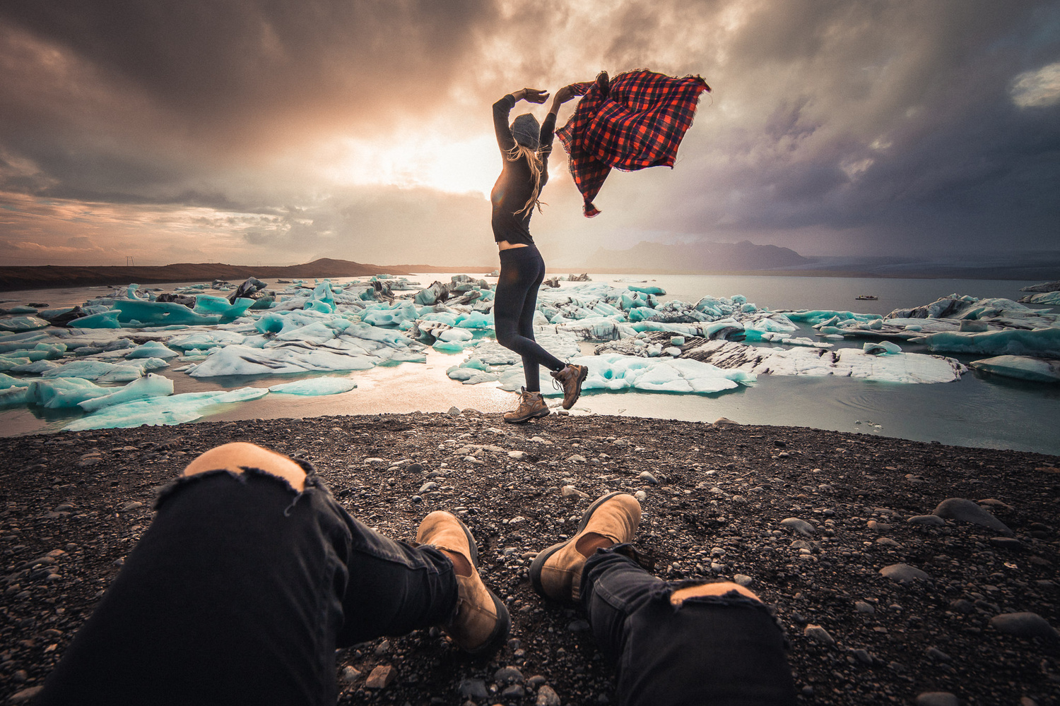 Icelandic Sundown Chill by Basti Hansen