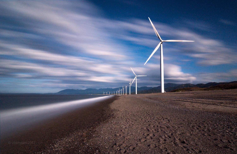 Bangui Windmills by ulysses dimdam