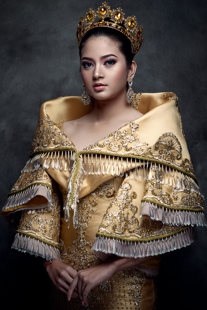Maria Clara Gown - A Traditional formal outfit of Filipino Women by ulysses dimdam