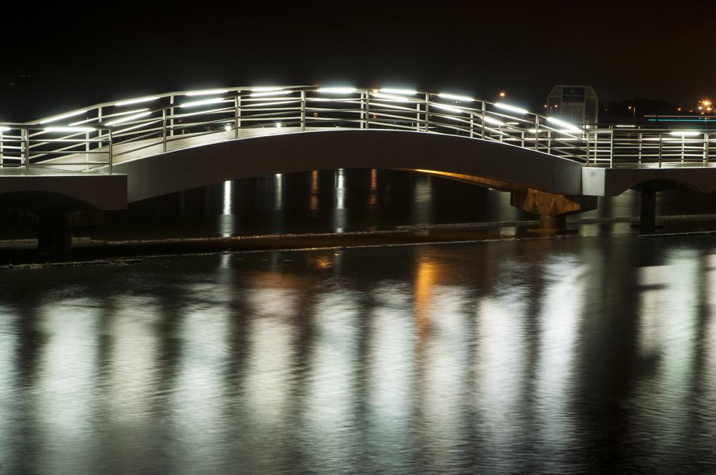 footbridge by John Berger