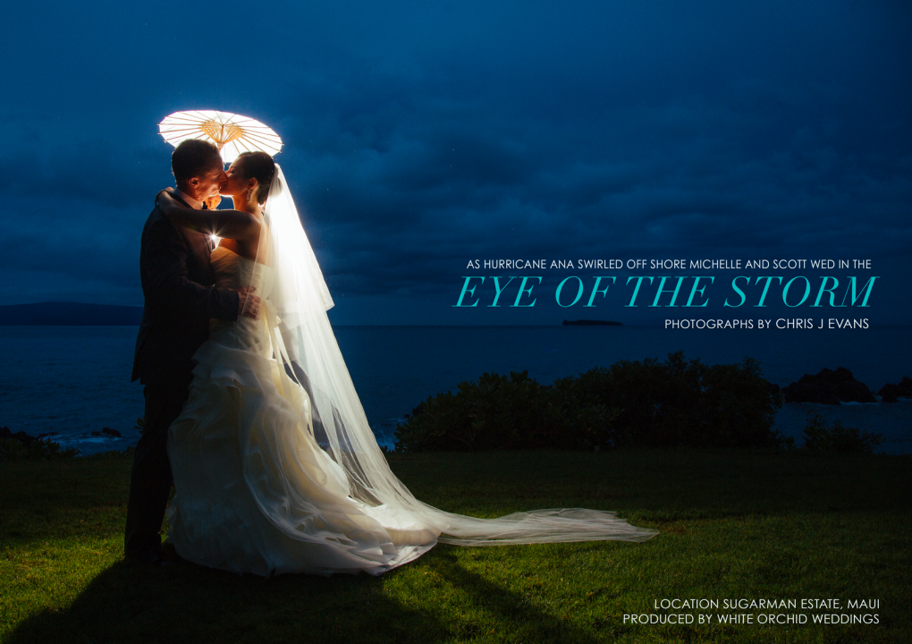 Eye of the storm by Chris J. Evans