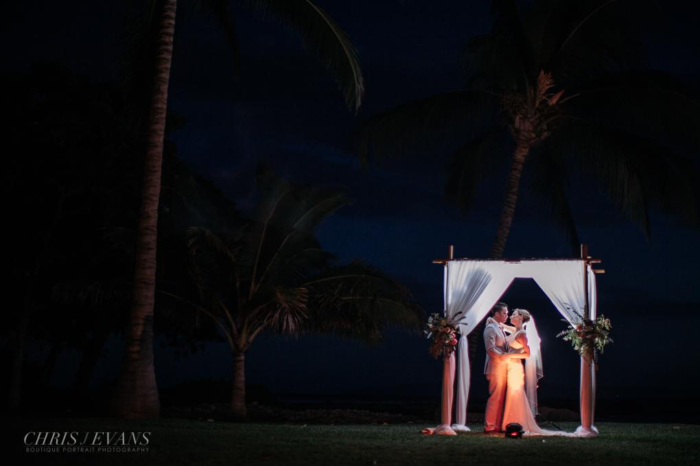 Under the moonlight by Chris J. Evans