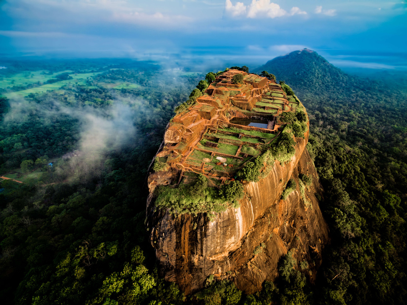 Sigiriya, The Lion Rock by Jerome Courtial