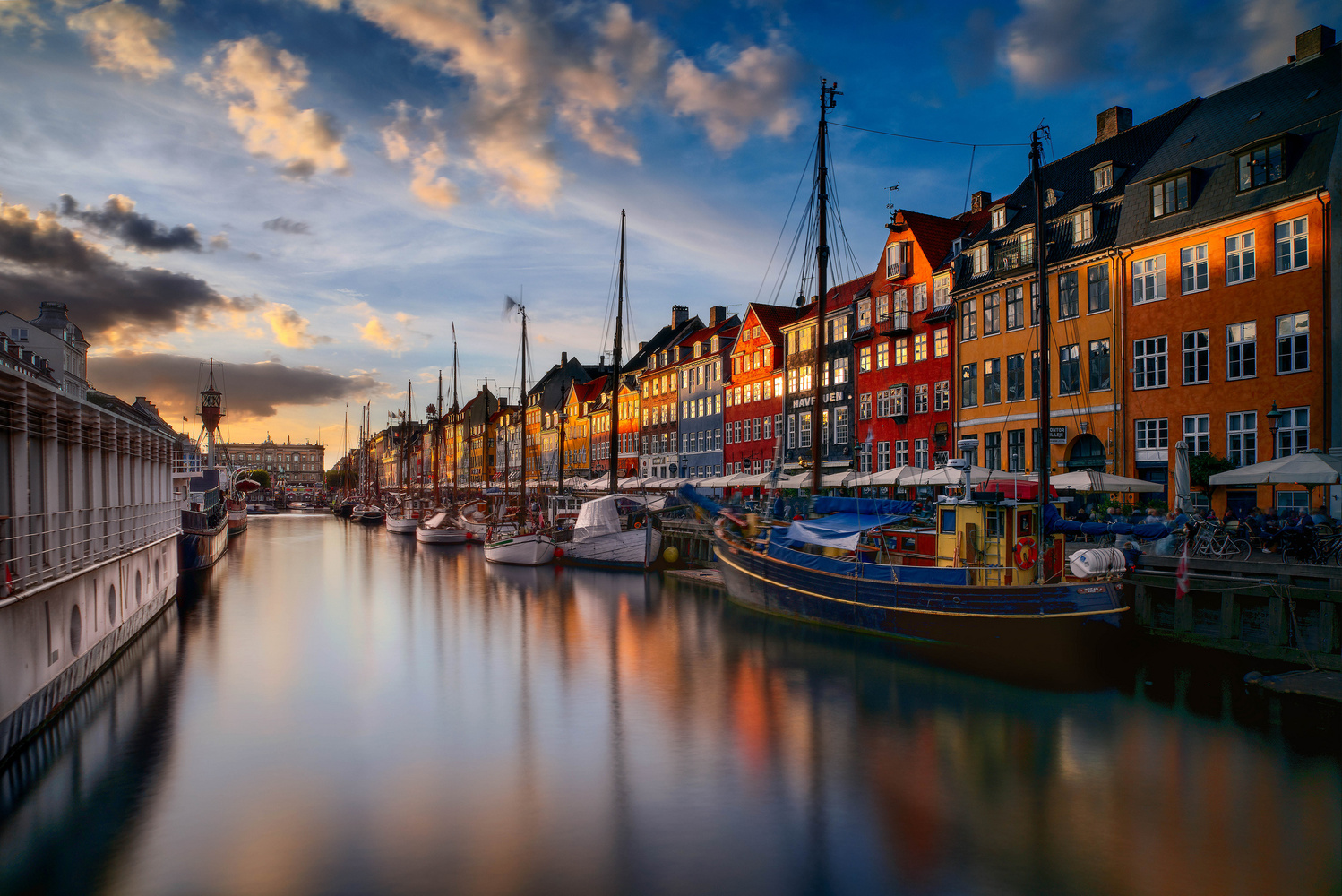 Copenhagen infamous view by Jerome Courtial