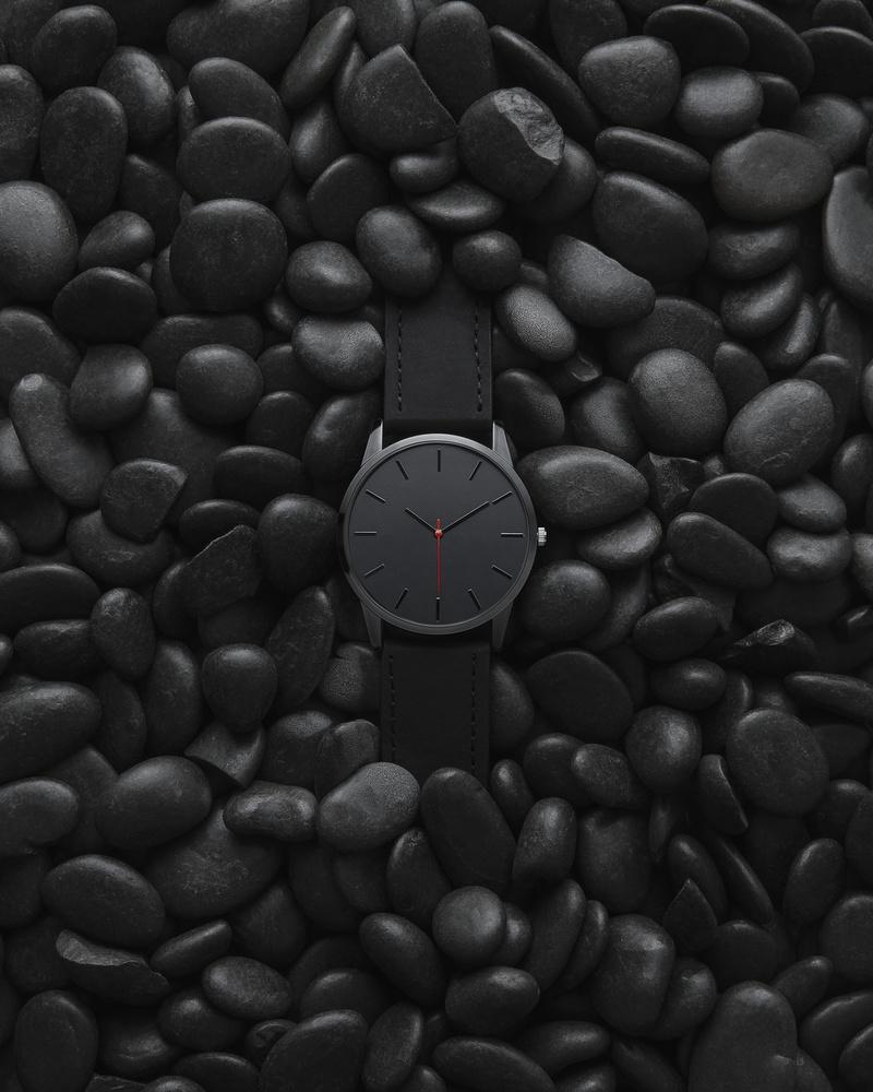 Black on black by Ewan Paton