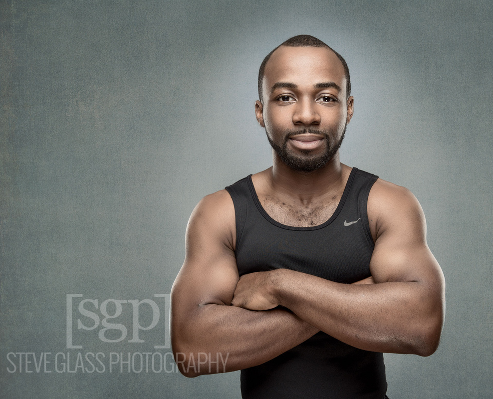Portrait Personal Trainer by Stephen Glass