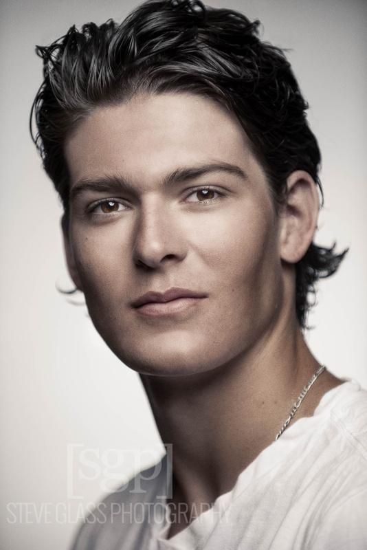Model Headshot by Stephen Glass