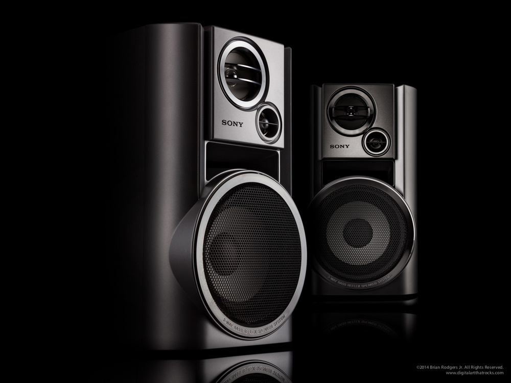 Sony Speakers by Brian Rodgers Jr.