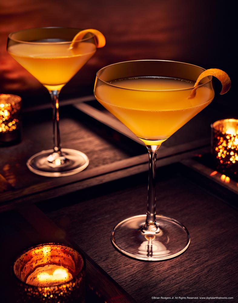 Orange Martini by Brian Rodgers Jr.