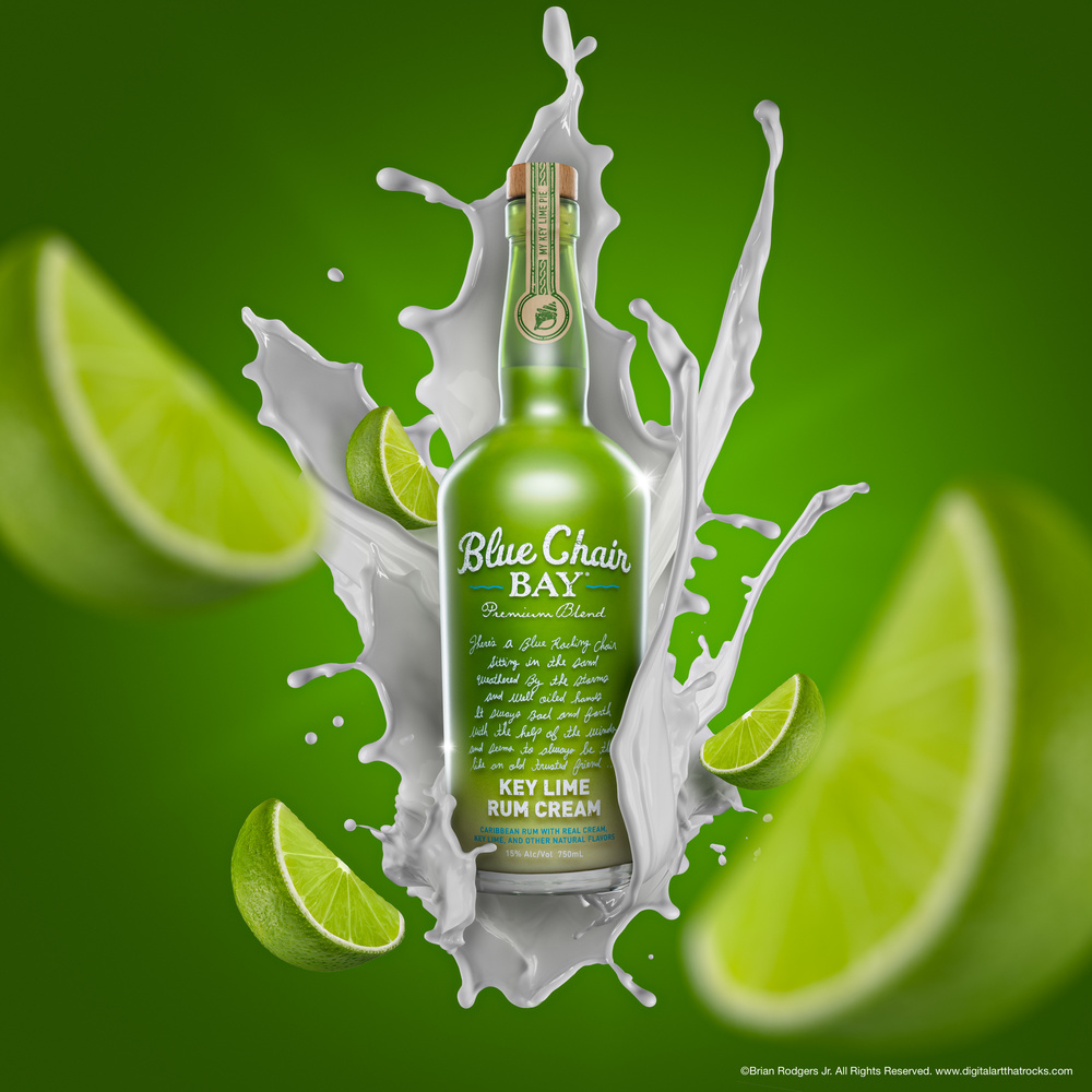 Key Lime Rum Splash by Brian Rodgers Jr.