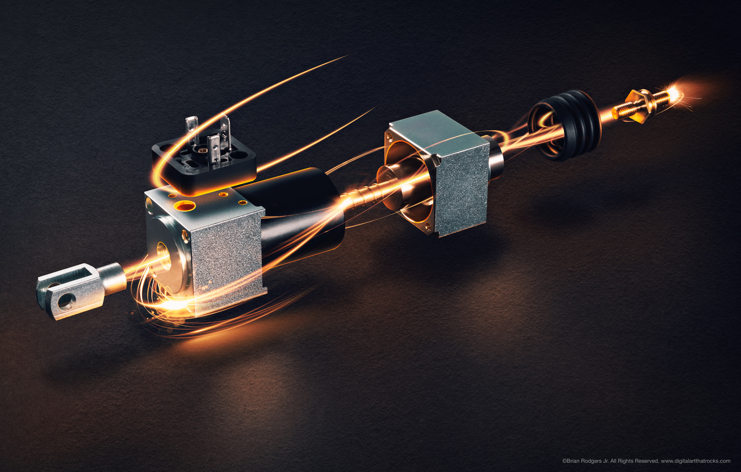 Solenoid Steam Engine by Brian Rodgers Jr.