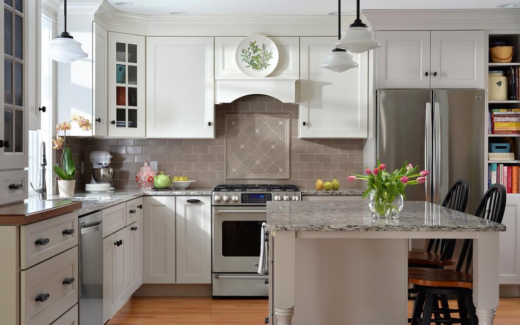Portland, ME kitchen by Kim Smith