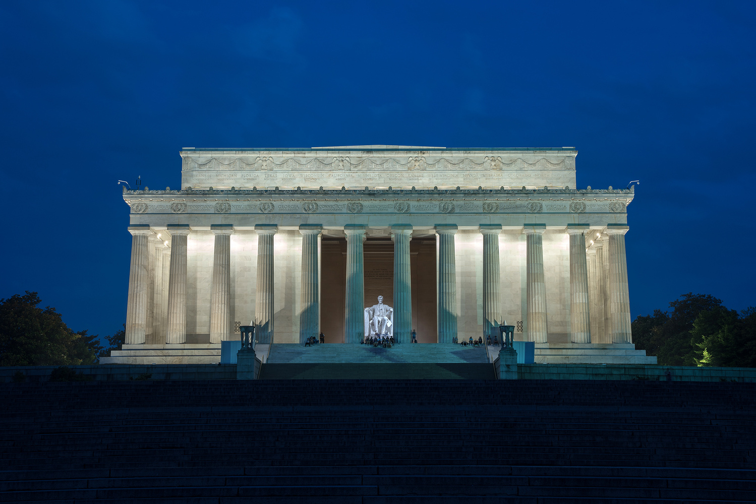 Lincoln Memorial by Brandon Snider