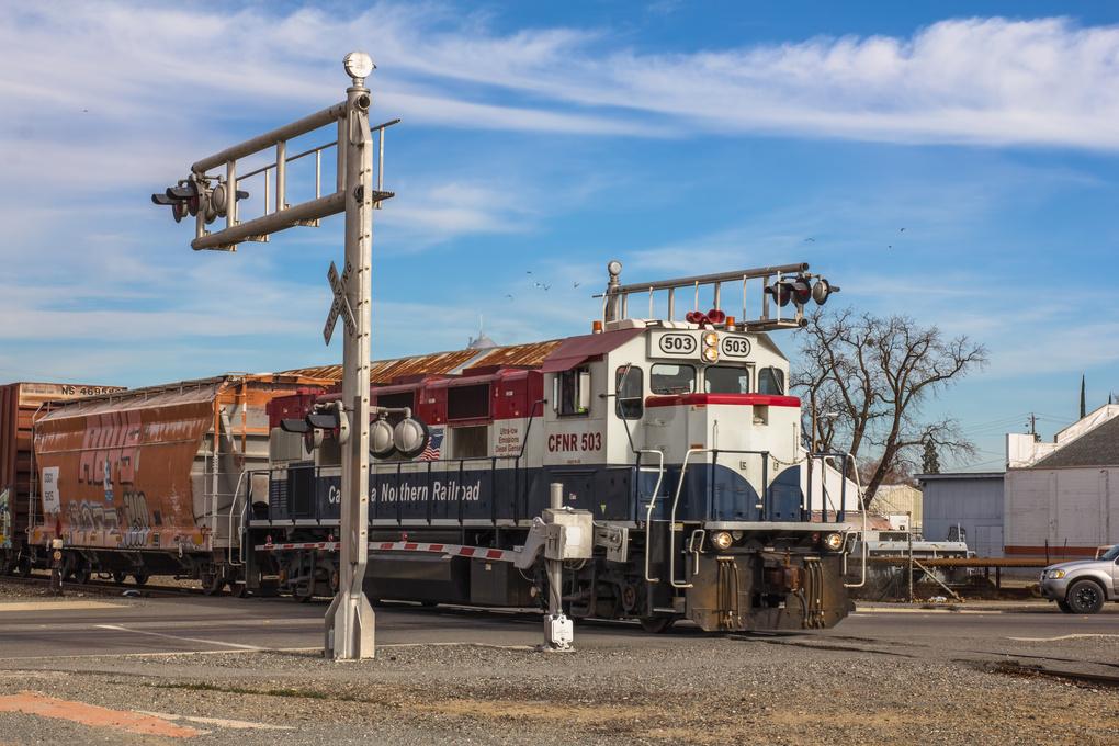 Cargo Train by Jaydie Lee