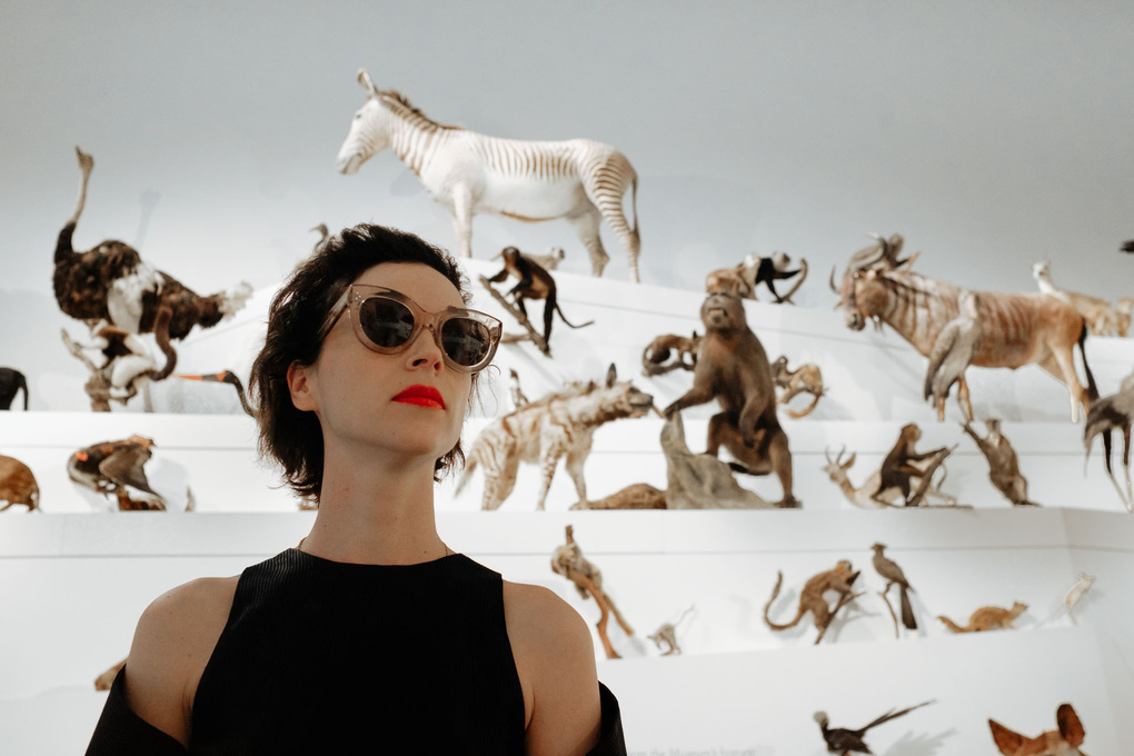 Annie Clark (St Vincent) for i-D Mag by Benjamin Thomson