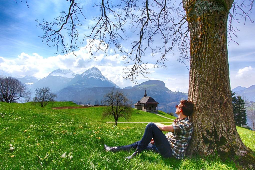 Some Where In Switzerland  by Scott McCourt