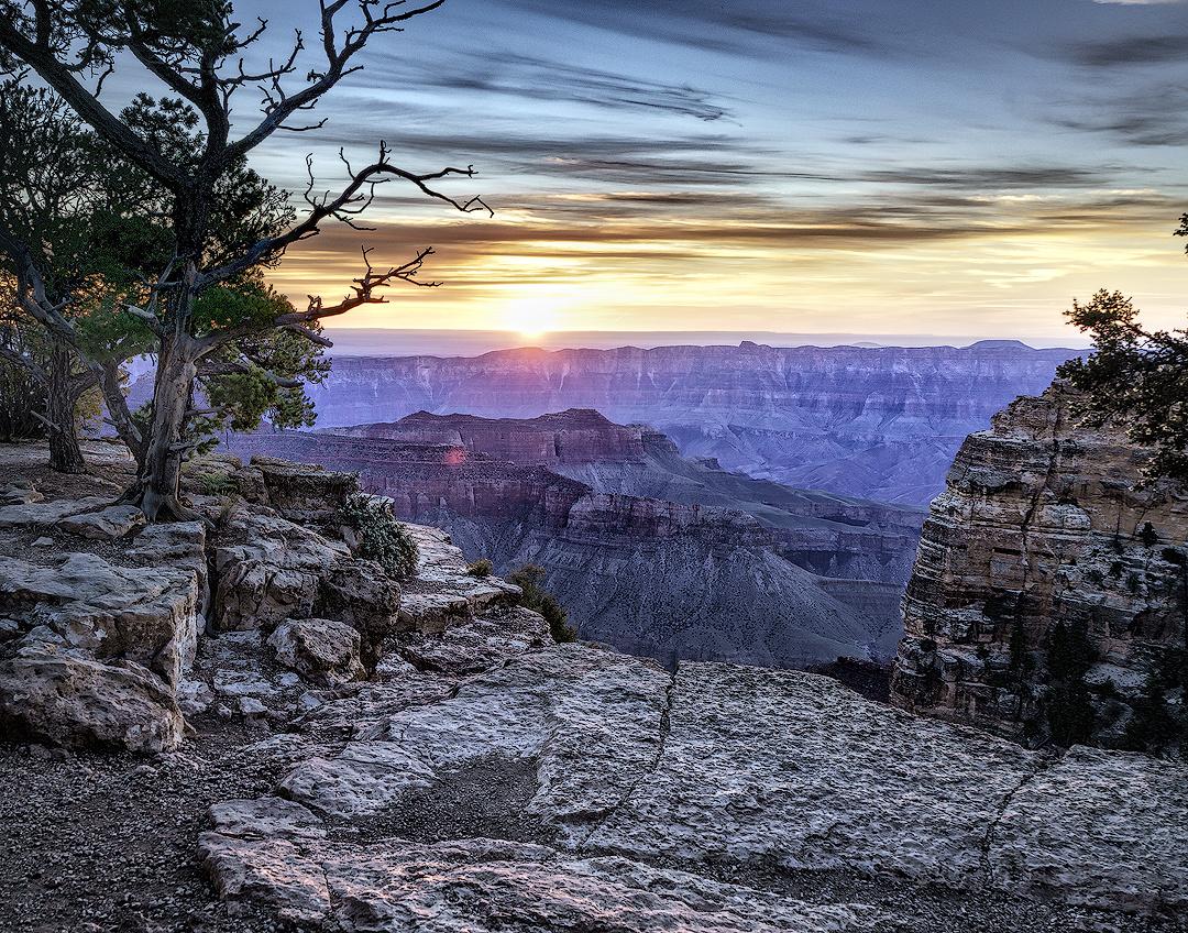 Dawn on North Rim by Greg Wisner