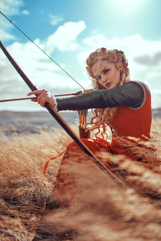 aiming in the wind by Hanny Honeymoon
