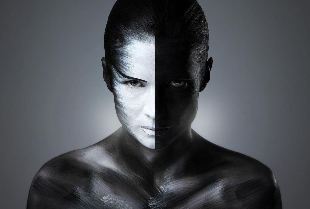 Two Face Lady by Neven Krčmarek
