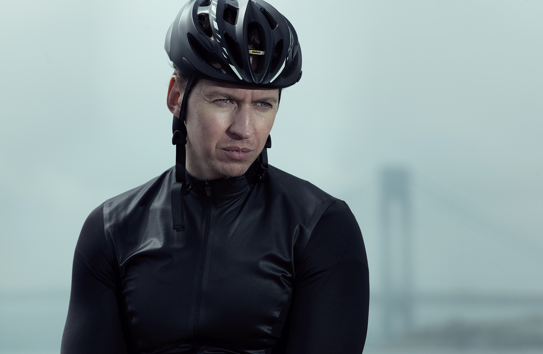 Cyclist by Alex Logaiski
