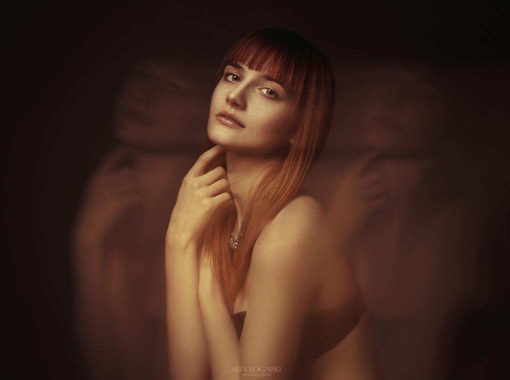 Nadia portrait by Alex Logaiski