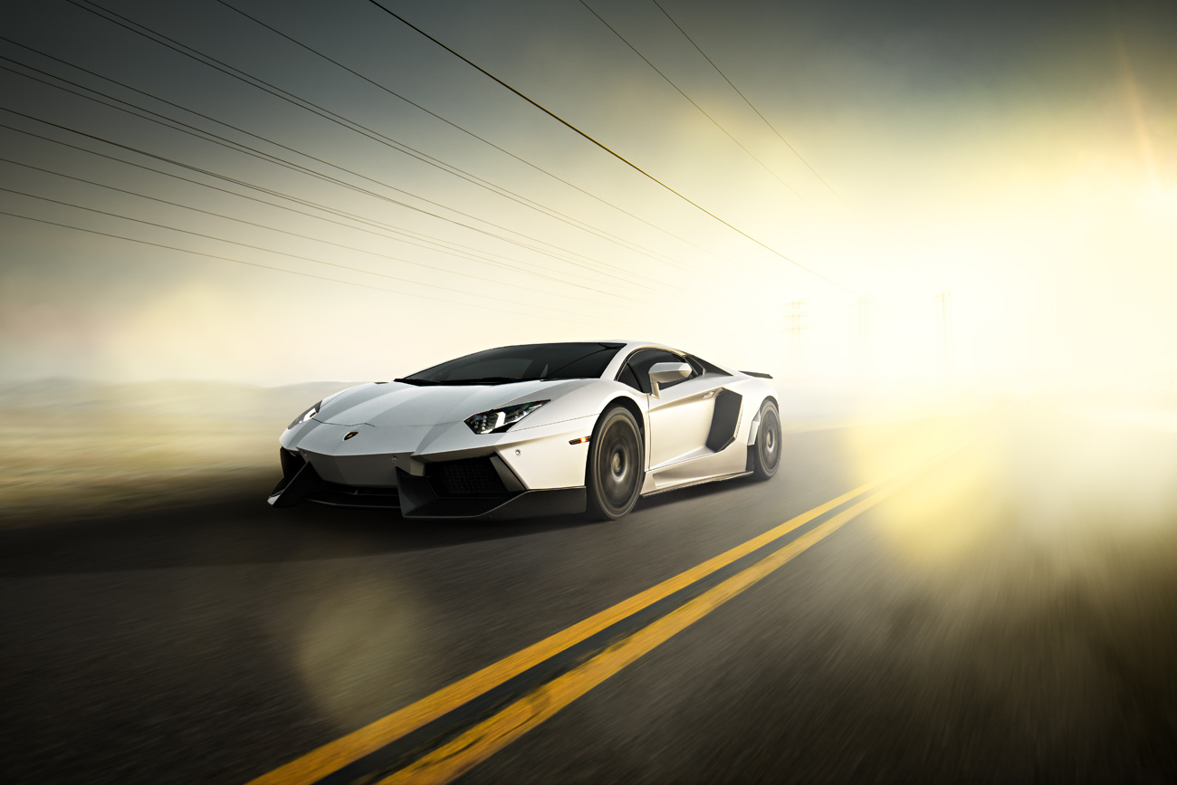 Lamborghini Aventador by Pascal phPics