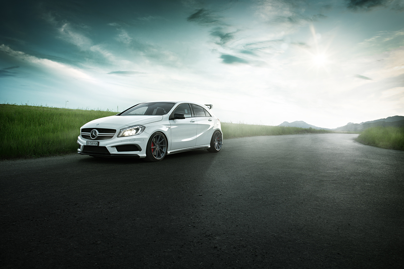 Mercedes A45 AMG - KW Suspensions by Pascal phPics