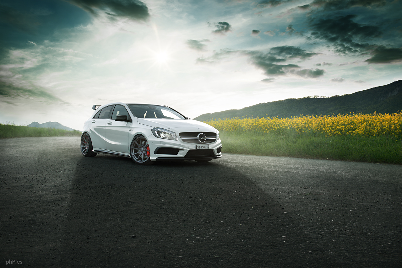 Mercedes A45 AMG by Pascal phPics