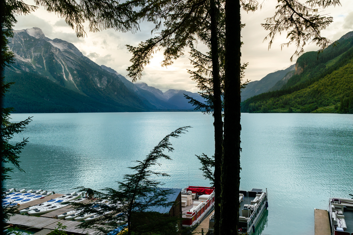 Chilkoot Lake by Nicholas Vettorel