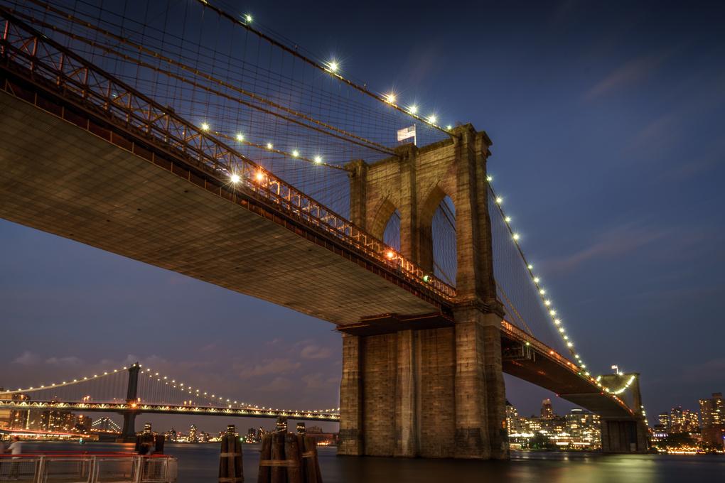Brooklyn Bridge by Frank Kruller