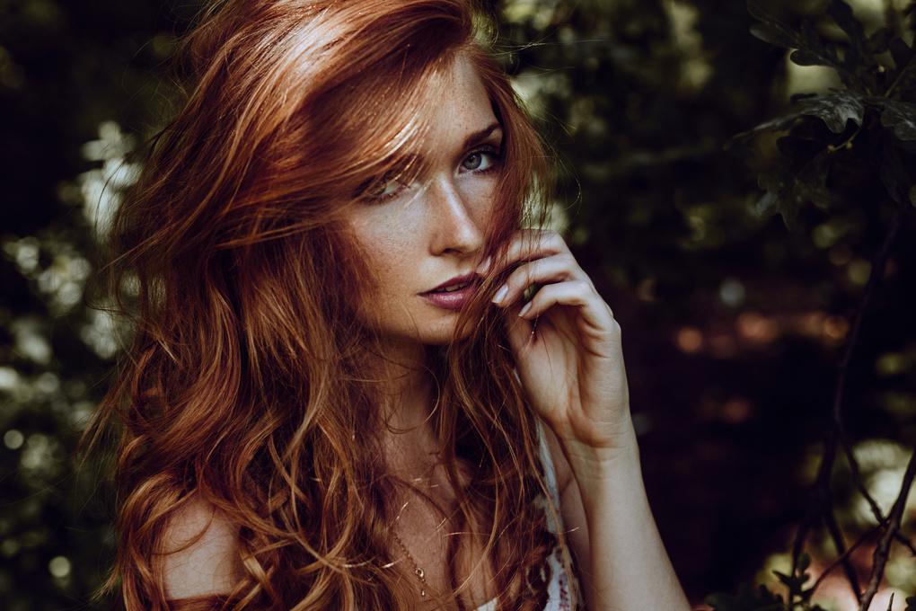 redhead by Martin Strauss