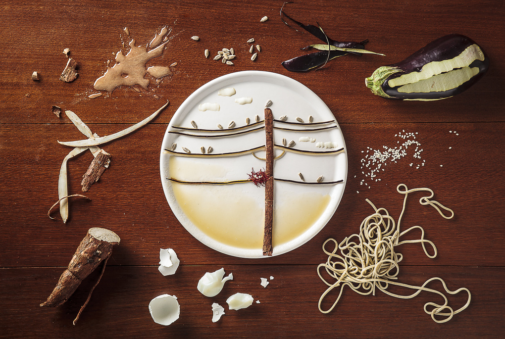 Birds on Wire by Anna Keville Joyce